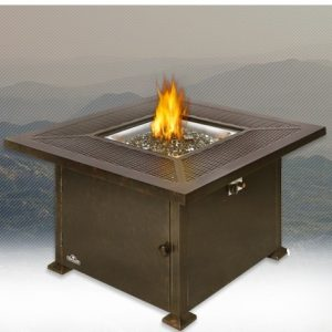Madrid Patio Flame Square Table U2013 GPFTS42 BZ